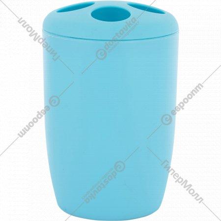 Стакан для зубных щеток «Бриз» пластмассовый, 11 см.