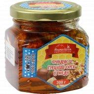 Фундук и грецкий орех в меду «Медовая Артель» 300 г.