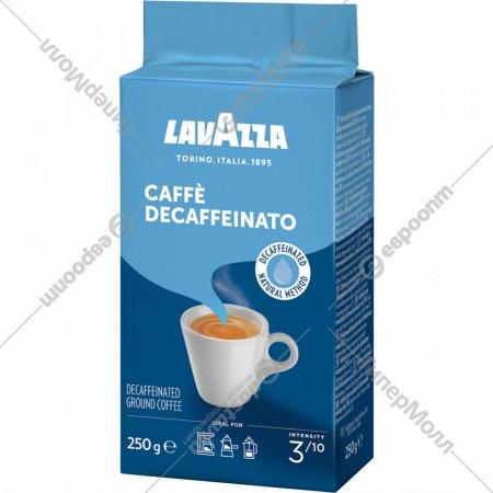 Кофе «Lavazza» без кофеина, молотый, 250 г.