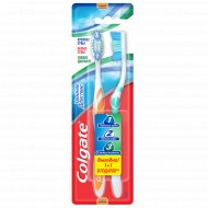 Зубная щетка «Colgate» тройное действие, 1+1 шт.