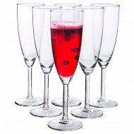 Набор бокалов для шампанского «Ikea» 6шт.