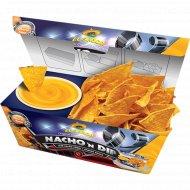 Начос «El Sabor» со вкусом чили - 85 г и нежным сырным соусом - 90 г.
