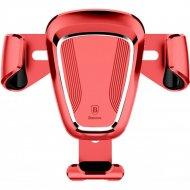 Автомобильный держатель «Baseus» SUYL-09, красный