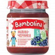 Пюре «Bambolina» яблоко-черника, 100 г