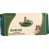 Вафли «Вереск» «Невские» топлёное молоко 210 г