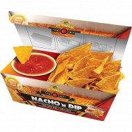 Начос «El Sabor» со вкусом чили - 85 г и с соусом сальса - 90 г.