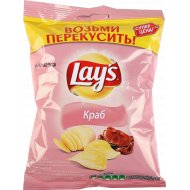 Чипсы «Lay's» со вкусом краба, 40 г.