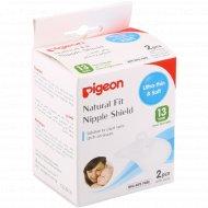 Накладки защитные «Pigeon» Natural Fit для кормления, 2 шт.