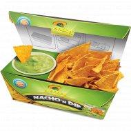 Начос «El Sabor» со вкусом чили - 85 г и с соусом гуакамоле - 90 г.