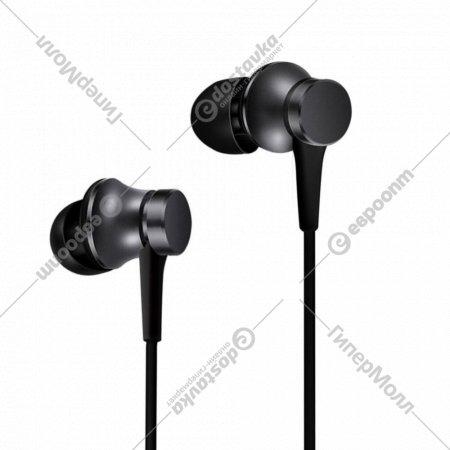 Наушники «Xiaomi» Mi In-Ear Headphones Basic HSEJ03JY, глобальная версия.