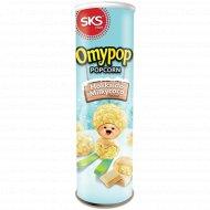 Попкорн «Omypop» со вкусом молочного шоколада, 85 г.
