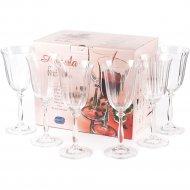 Набор бокалов для вина «Bohemia Crystal» Angela, 6 шт, 350 мл