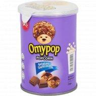 Попкорн «Omypop» со вкусом тёмного шоколада, 35 г.