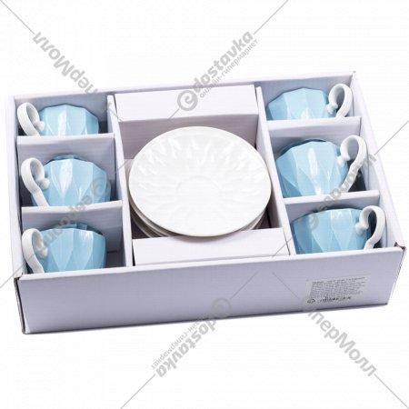 Чайный набор «Belbohemia» Верона, 12 предметов, 100 мл