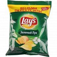 Чипсы «Lay's» со вкусом молодого зелёного лука 40 г.