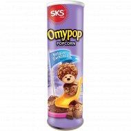 Попкорн «Omypop» со вкусом тёмного шоколада, 85 г.