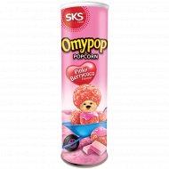 Попкорн «Omypop» со вкусом ягодного шоколада, 85 г.