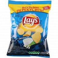 Чипсы «Lay's» со вкусом сметаны и лука, 40 г.