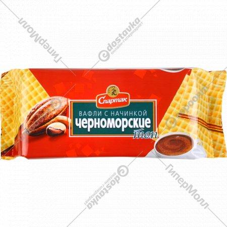 Вафли с начинкой «Черноморские» 87 г.