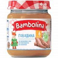 Пюре из говядины «Bambolina» 100 г.