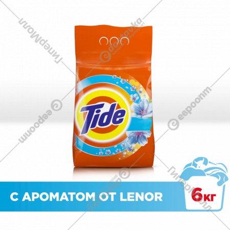 Стиральный порошок «Tide» ленор автомат, 6 кг.