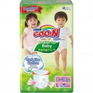 Детcкие трусики-подгузники «Goo.N» Cheerful Baby размер L, 9-14 кг, 48 шт