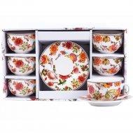Чайный набор «Belbohemia» Folk, 12 предметов, 230 мл
