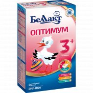 Напиток сухой молочный «Беллакт Оптимум 3+» 400 г.