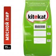 Корм для кошек «Kitekat» мясной пир, 15 кг.