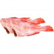 Рыба свежемороженая «Морской красный окунь» 1 кг., фасовка 0.5-1 кг