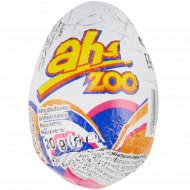 Яйцо шоколадное «Aha Zoo» с игрушкой, 20 г.