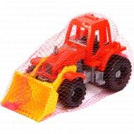 Трактор «Ижора» с грейдером.