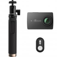 Комплект экшн-камера «YI» 4K + Монопод «YI».