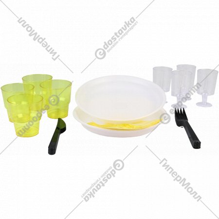 Набор посуды «Премиум» 4 персоны.