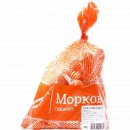 Морковь столовая мытая, 1 кг.