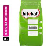 Корм для кошек «Kitekat» телятинка аппетитная, 15 кг