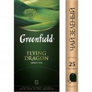 Чай зелёный «Greenfield» Flying Dragon, 25 пакетиков.
