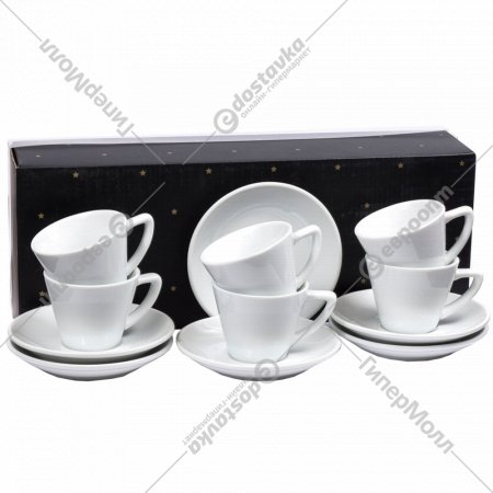 Чайный набор «Belbohemia» 12 предметов, 200 мл.