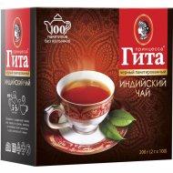 Чай «Принцесса Гита» чёрный байховый в пакетиках, 100 х 2 г.