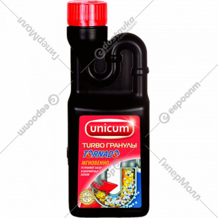Средство «Unicum» для удаления засоров 600 г.
