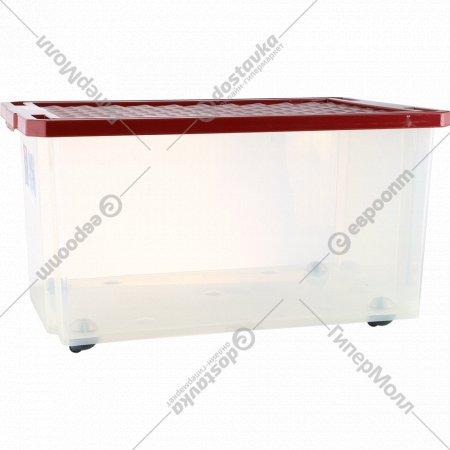 Ящик для хранения «Оptima» на роликах, 57 л.