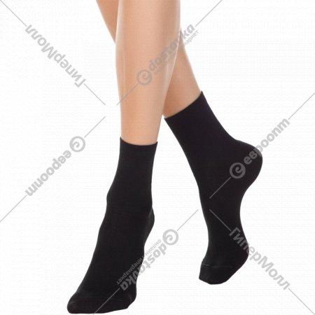 Носки женские хлопковые «Ce «Classic»» черные, размер 23.