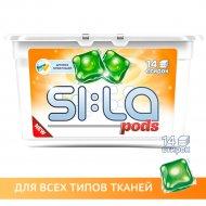 Капсулы для стирки «SI:LA» Pods universal, 14 шт.