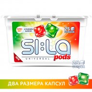 Капсулы для стирки «SI:LA» Pods superset, 25 шт.