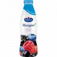 Йогурт «Савушкин» лесная ягода, 2%, 930 г.
