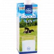 Молоко «Малочны Гасцiнец» ультрапастеризованное, 3.2%, 1 л.