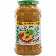 Пюре «Будь здоров!» яблочно-персиковое, 700 г.
