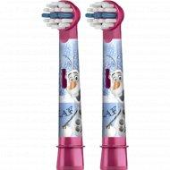 Насадки для зубной щетки «Oral-B» Kids Frozen, 2 шт.