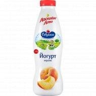Йогурт «Ласковое лето» персик, 1.5%, 930 г.