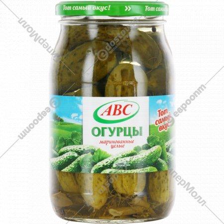 Огурцы маринованные «АВС» 880 г.